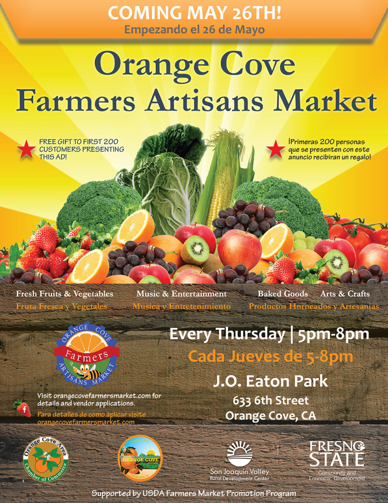 City of Orange Cove Farmers Market